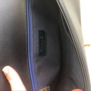 CHANEL Bags - 🔹▪️🔹Chanel Medium Boy Bag Lambskin Blue & Black